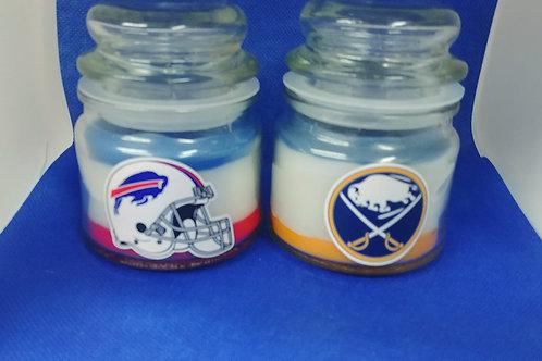 Team Soy Wax Apothecary jar candle 4.5 oz
