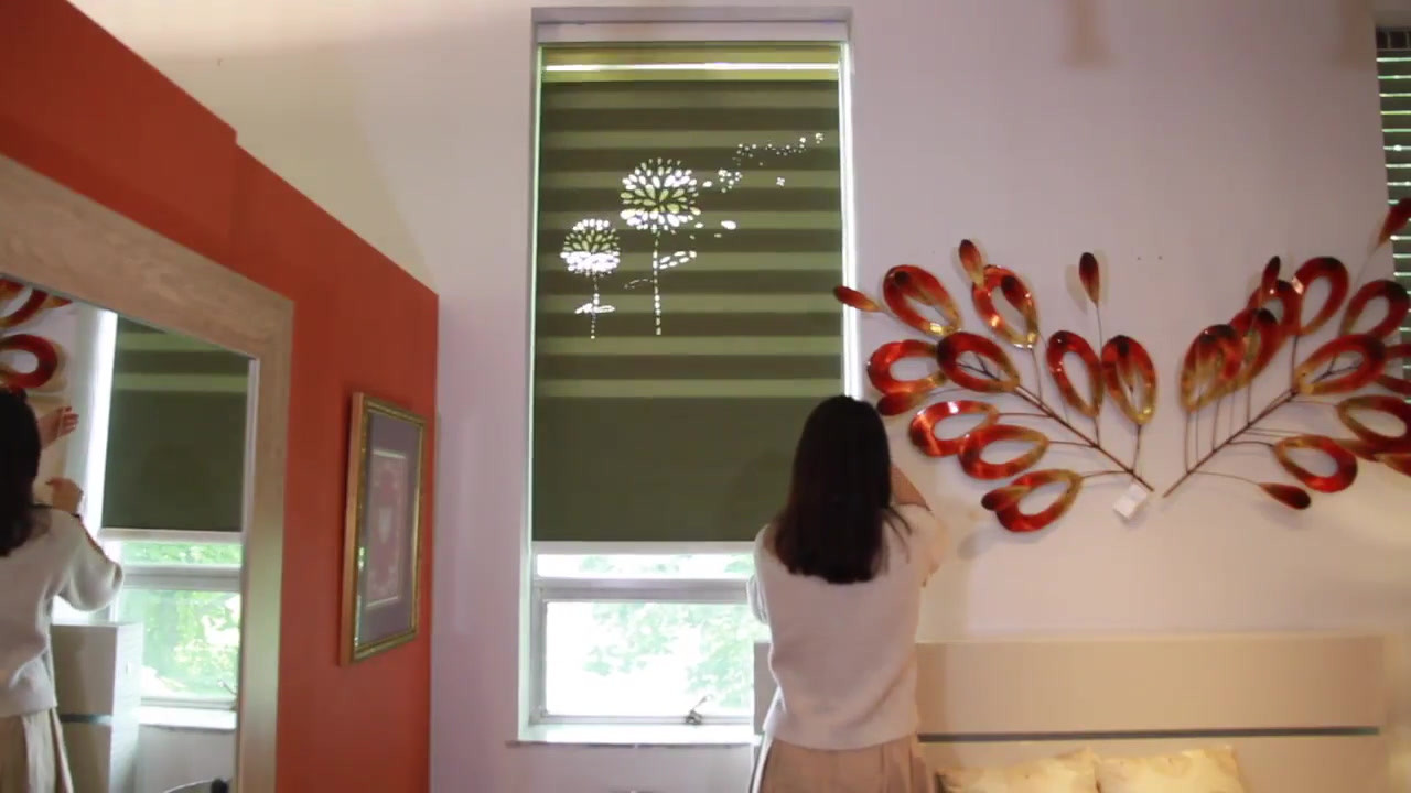 Laser Cut Design Blinds