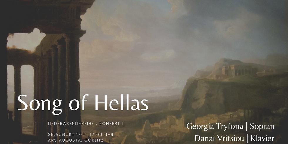 Song of Hellas   Erster Liederabend
