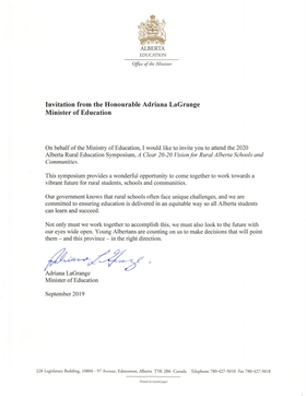 Minister's Message