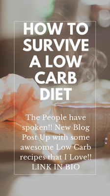 How to Survive a Low Carb Diet, Especially for the Sweet Tooth