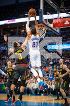 Andre Roberson Photo by: Zack Beeker/OKC Thunder