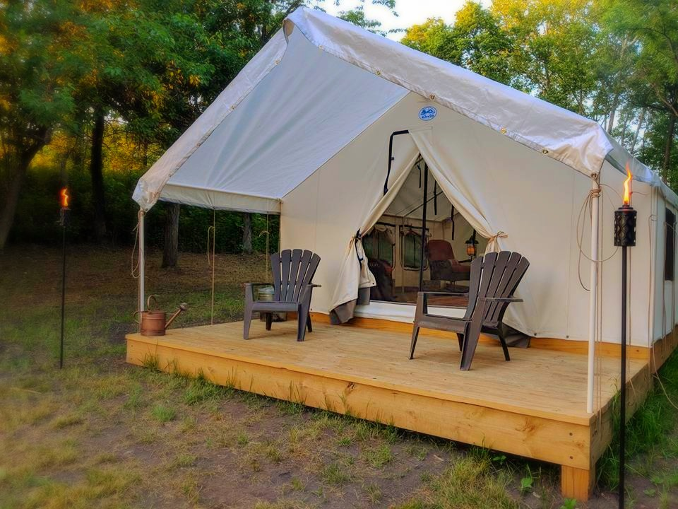 Glamping near Kansas City | Midwest