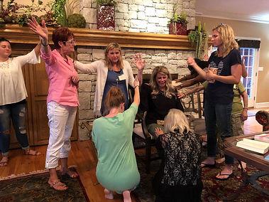 Powerful Prayer at Advance Leadership Weekend