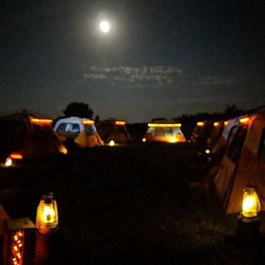 Tent Village | Hawley Farm Glampig