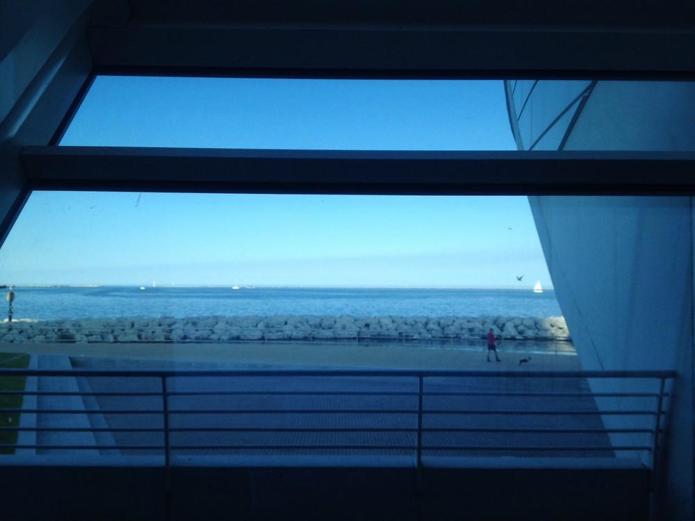 Milwaukee Art Museum over Lake Michigan