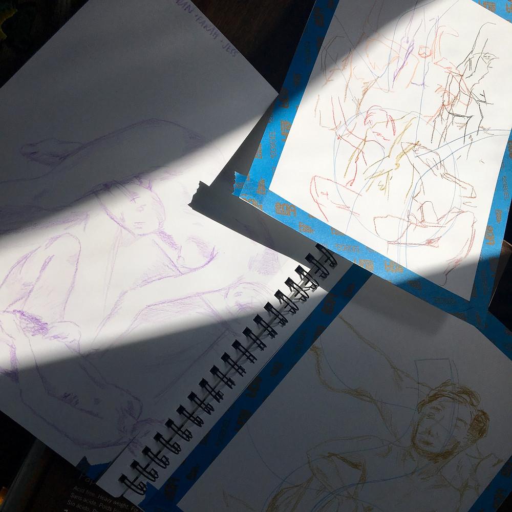 Sketchy Queers Figure Drawing