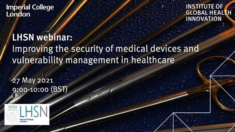 Improving the security of medical devices and vulnerability management in healthcare