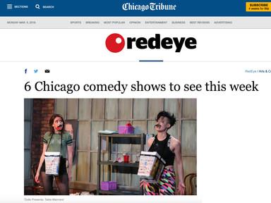 Red Eye, Chicago Tribune