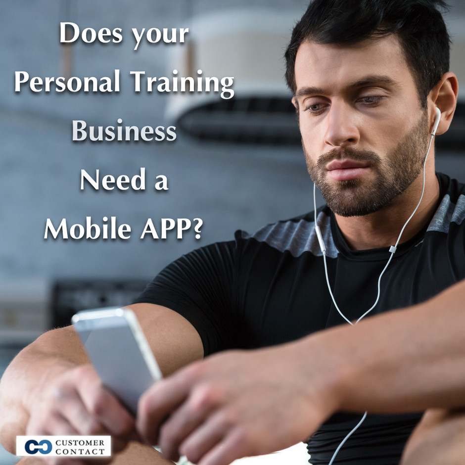 Why doesn't your personal training business have a mobile app?