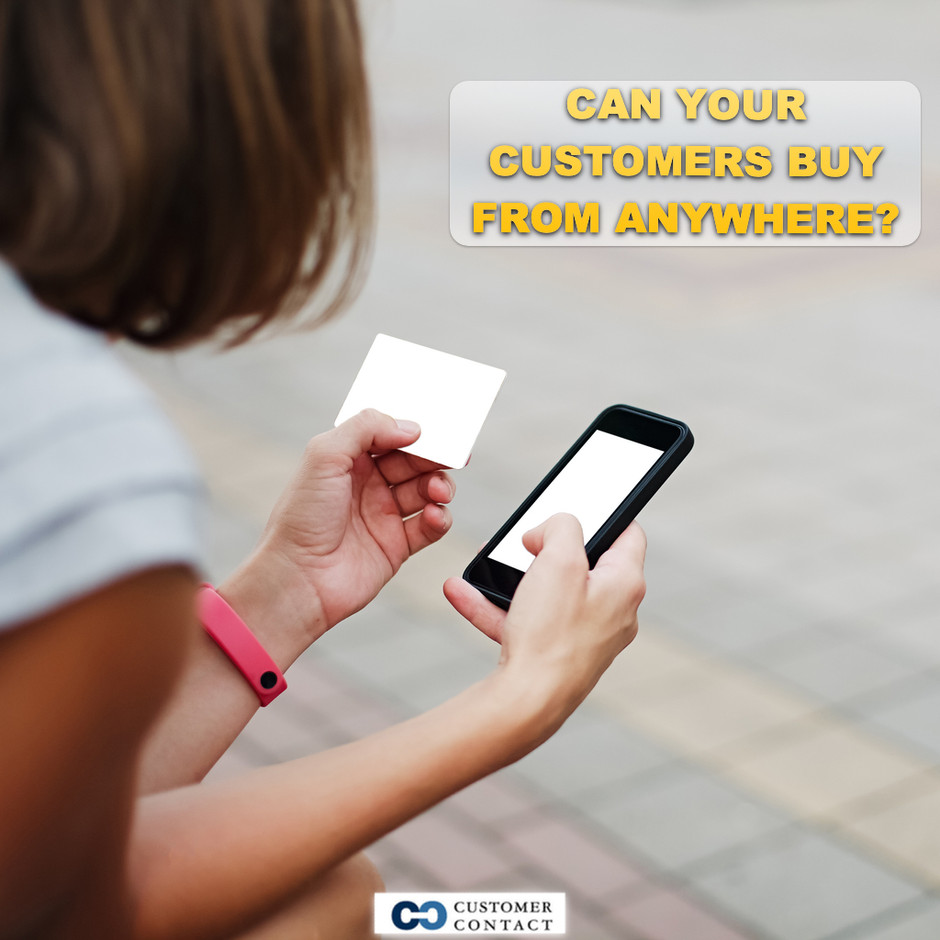 Can your customers buy from anywhere?