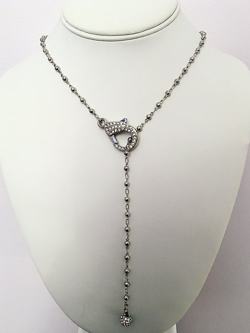 Lobster Claw Chain Necklace