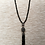Thumbnail: Beaded Tassel Necklace