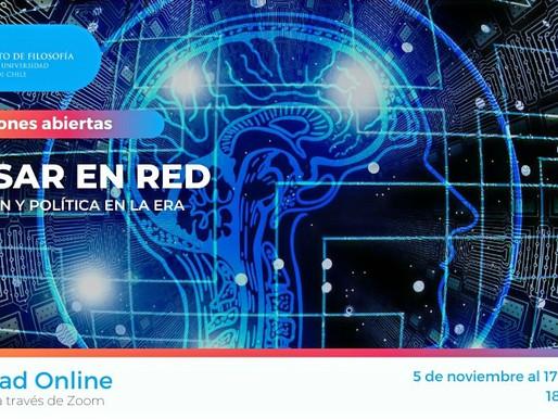 Ya comenzó la 4° versión del curso «Pensar en Red, Educación y Política en la Era Digital»