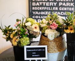 baskets of flower joy