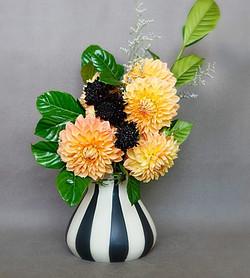 fall floral arrangement