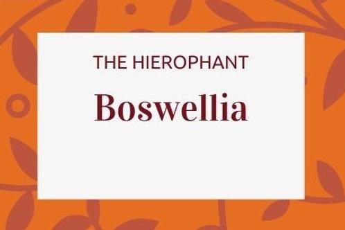Boswelia - Boswellia serrata