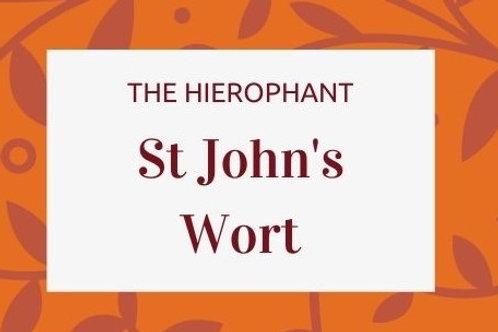 St John's Wort - Hypericum perforatum