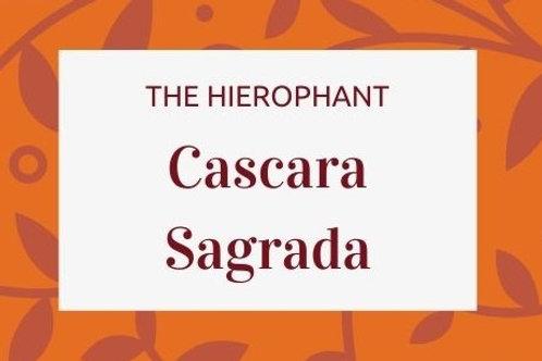 Cascara Sagrada - Rhamnus purshiana
