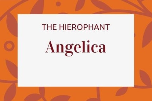 Angelica - Angelica archangelica.