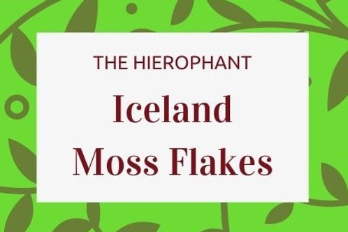 Iceland Moss Flakes