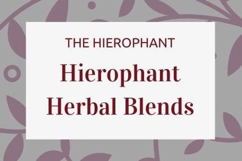 Hierophant Herbal Blends