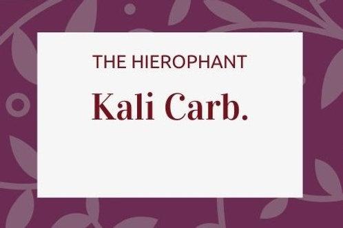 Kalium Carbonicum
