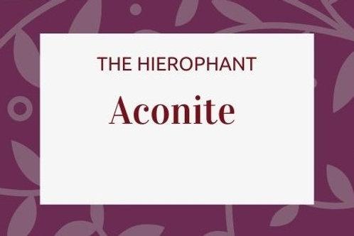 Aconitum Napelis