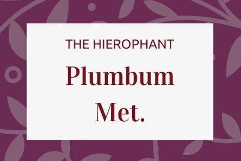 Plumbum Metallicum