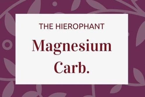 Magnesium Carbonicum