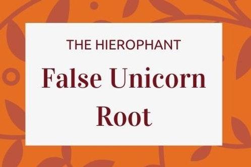 False Unicorn Root - Chamaelirium luteum.