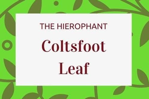 Coltsfoot Leaf