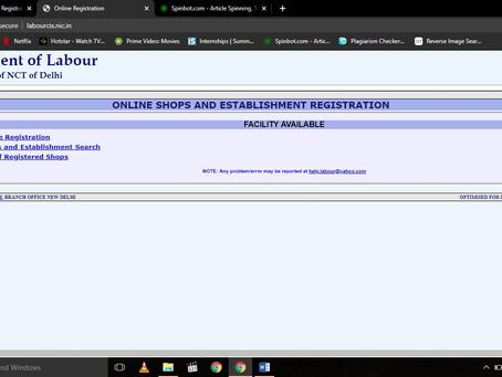 What is Shop & Establishment Act (Shop License or Labor License)