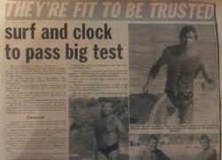 Lifeguard testing