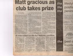 Matt Gracious as Club Takes Prize29082017 (2)