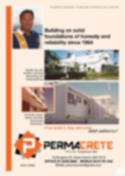 Permacrete Business, Grant Pforr Builder