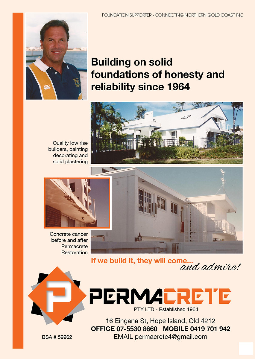 Permacrete Business, Grant Pforr Builder