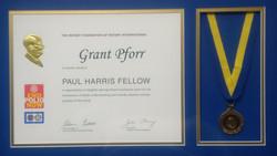 Rotary Paul Harris Medal