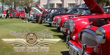 Car Show, Festival of Elegance Gold Coast 2014