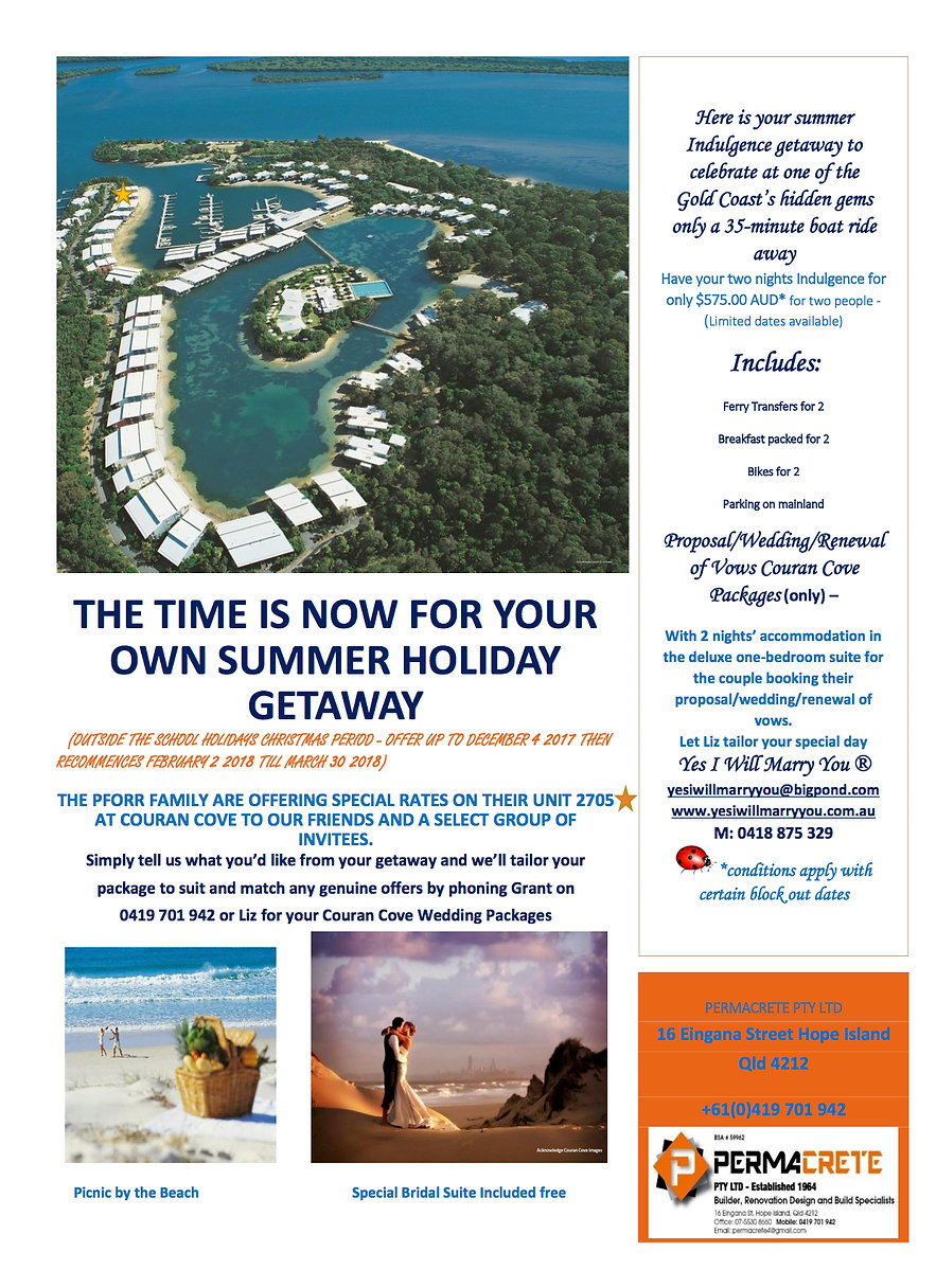 Couran Cove Holiday Unit Letting