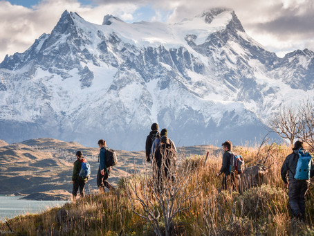 Condor Lookout and Spring in Patagonia