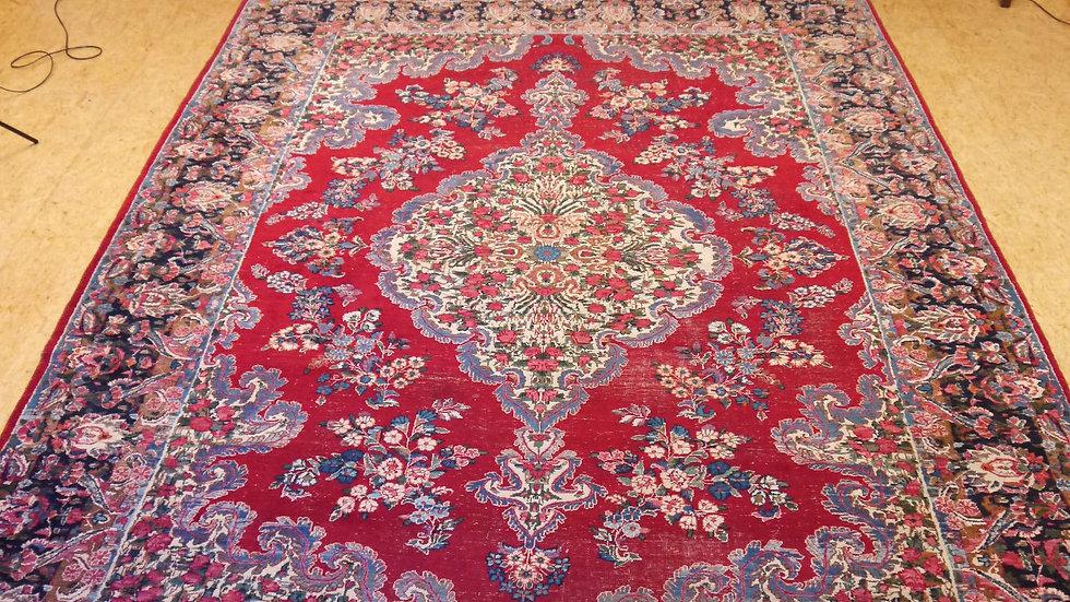 Stilvoller, älterer, großer Orient-Teppich: 380 x 269 cm...