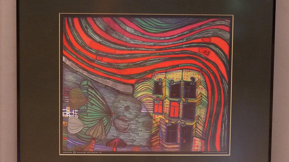 """""""Friedensreich Hundertwasser"""" : Wind aus Gras..."""