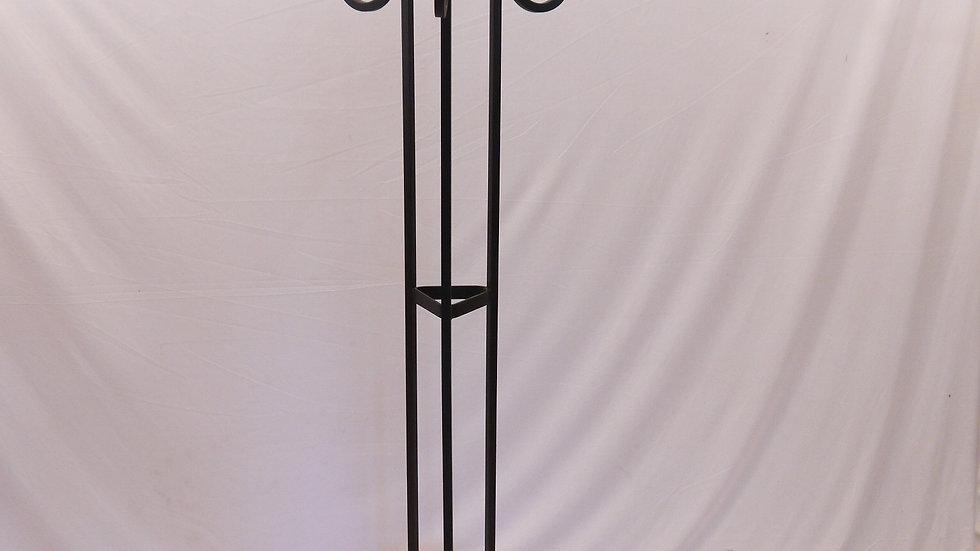 Sehr schöne, schwere Stand-Garderobe aus Eisen...
