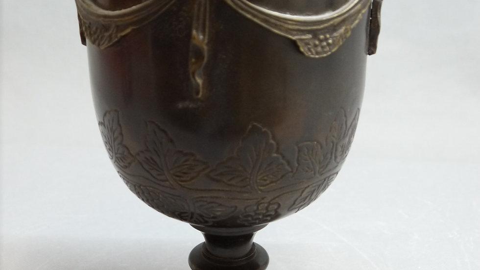 Stilvolle alte Bronze-Vase, wohl 20/30er Jahre -B-