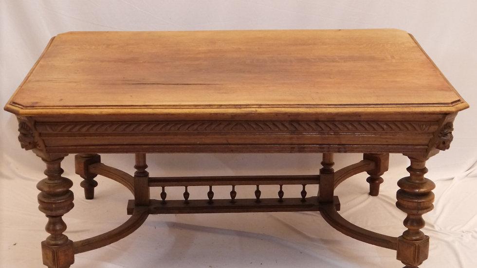 Sehr schöner Historismus-Sofa- Salontisch, Eichenholz, um 1880/1890...