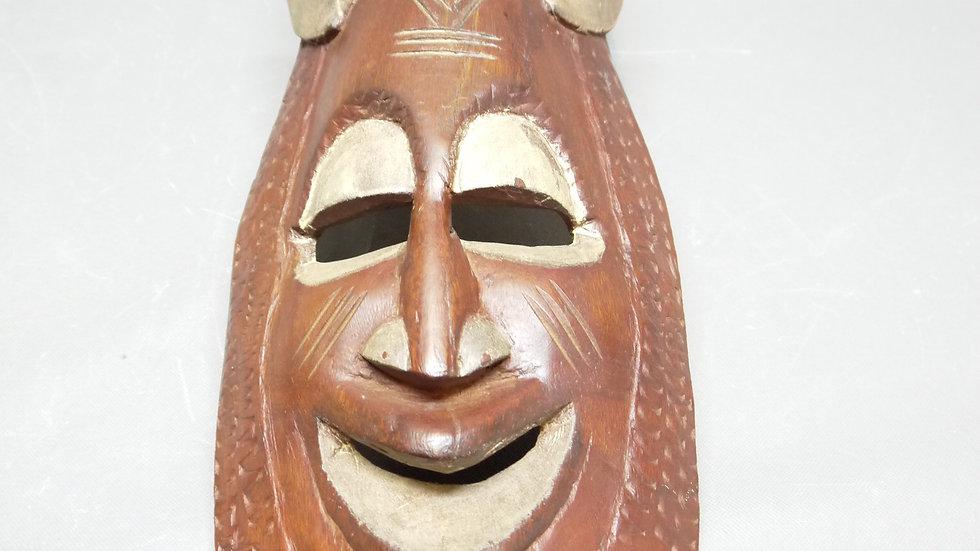 Eindrucksvolle Holzmaske, wohl Afrika...