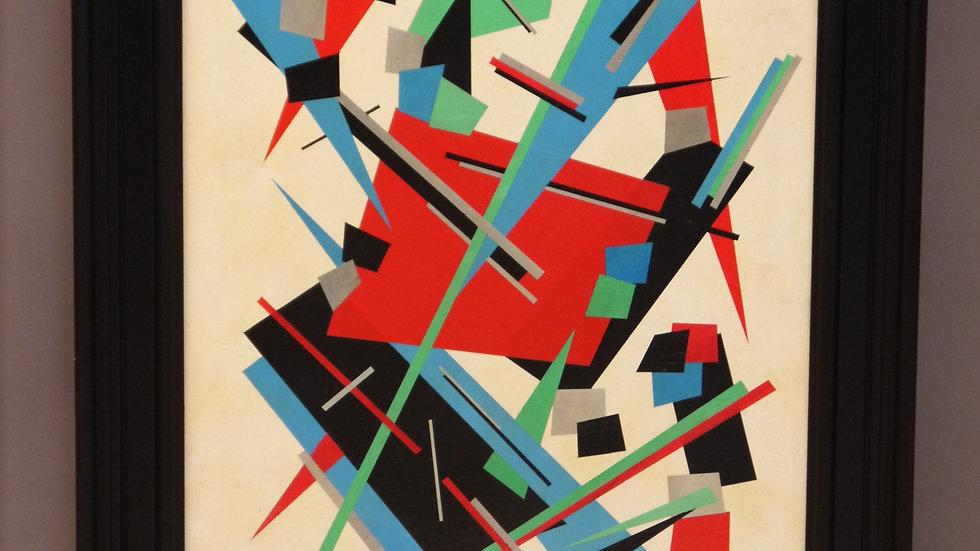 """Nadia Khodasevich Léger"" Composition Abstraite..."
