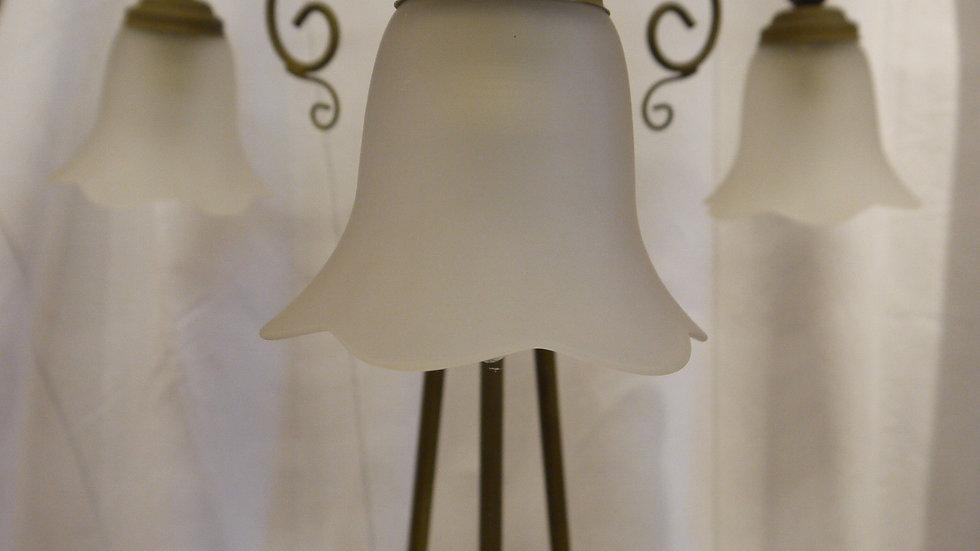 Sehr schöne & stilvolle, 3 flammige Stehlampe...