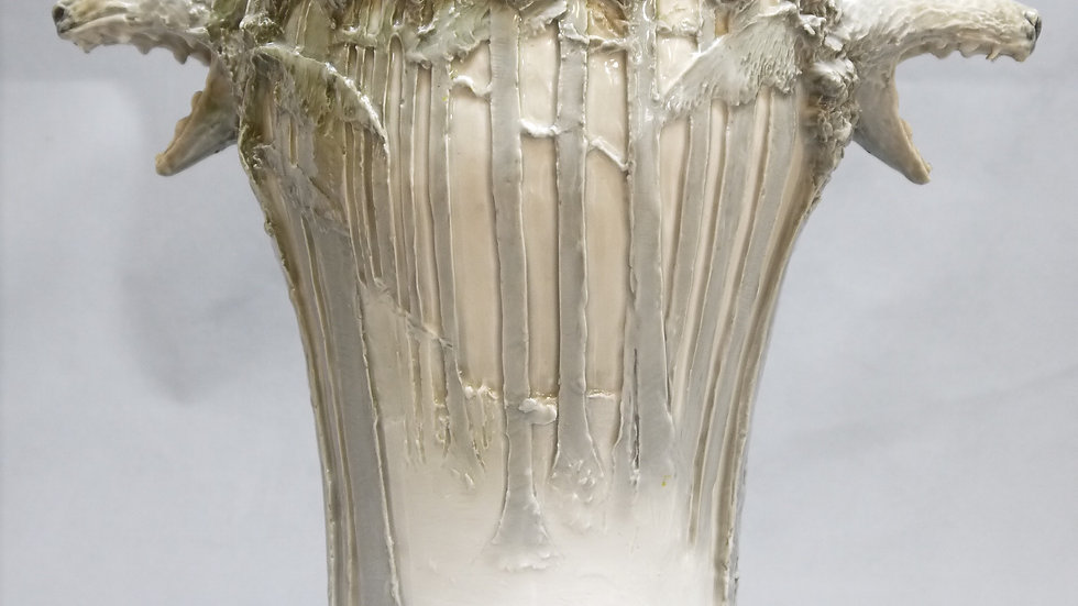 "Sehr seltene Jugendstil-Vase ""Ernst Wahliss/Vienna"""